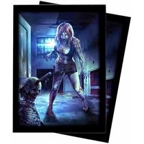 Dead Wake Barb Deck Card Protectors Ultra Pro - Sheldortoys