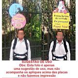 Mochila Pirulito Outdoor Propaganda Panfletagem Caixa Móvel