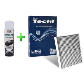 Filtro Ar Condicionado + Higienizador Palio Strada Idea Fire
