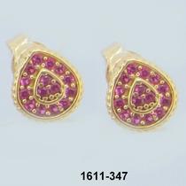 1611 Brinco De Ouro Rpw Joias 18k-750 Rubi