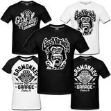 Camiseta Gas Monkey Garage Dallas Texas Camisa Dupla Barulho