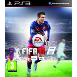 Fifa 16 Juego Ps3 Playstation 3