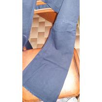 Allo Martinez Jeans Azul Gabardina