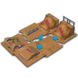 Kit Prodeck Skate Park Multikids Pista Skate De Dedo