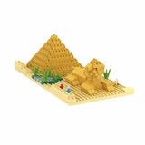 Pirámide De Egipto Y Esfinge De Guiza Nanoblocks Mini Lego