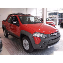 Fiat Strada Adventure Doble Cabina-anticipo $58.000 O Usado!