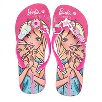 Chinelo Infantil Barbie Profissões Ipanema 36