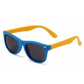 Óculos De Sol Infantil Polarizado Unissex Flexível