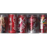 Latas De Coca Cola Vacias,no Circulantes De Coleccion.