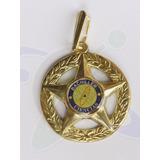 Medalla 5 Puntas Bachiller Con Logo Graduaciones Promoción