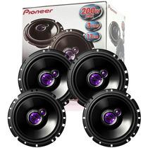 Kit Falantes 2 Pares De 6 Pioneer/ Gm, Ford, Honda, Citroen