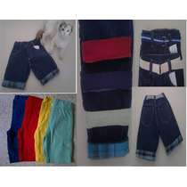 Bermuda Jeans E Coloridas Com Regulagem Infantil E Bebe