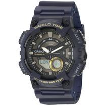 Casio Mtd-1082-1avcf Reloj Análogo, Hombre, Ovalado, Color