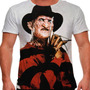 Camiseta Filme Clássico Freddy Krueger Masculina