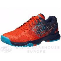 Zapatillas Tenis Wilson Kaos Comp Red