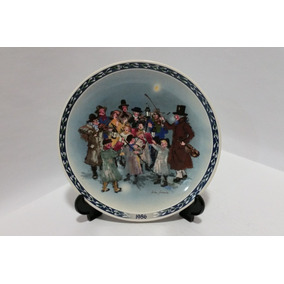 Prato The Carolers Vintage Decorativo Wedgwood