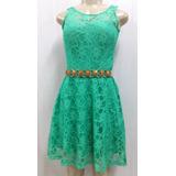 Vestido Moda Evangelica - Em Renda - Tam P Outlet