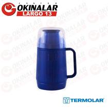 Garrafa Térmica 500ml Mundial - Termolar Azul