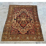 Tapete Vintage Isfahan Persa Iran - Med 2,10 X 1,50