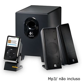 Subwoofer Super Grave Caixa De Som Potente Notebook Pc Tv