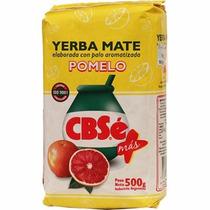 Erva-mate Argentina Cbsé Elaborada Sabor Pomelo 500g