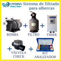 Sistema De Filtrado Para Albercas