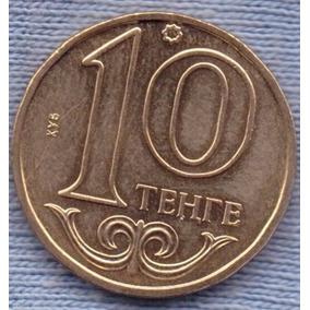 Kazakhstan 10 Tenge 2000 * Emblema Nacional * Republica *
