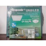 Panel Sistema De Iluminacion Led 25w Ecopower Plafon Aplique