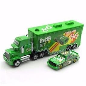 Cars Pixar - Kit Caminhão E Chick Hicks