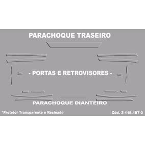 Kit Protetores Adesivo Parachoque Porta Toyota Corolla 2014
