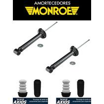 Par Amortecedor Kit Traseiro Gol G5 G6 Original Monroe Axios