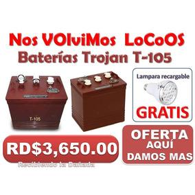 Bateria Trojan Roja En O F E R T A Z O 3,650 829 839 9651