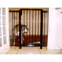 Grade Porta Proteção Criança Bebe Cão.gratis 2 Extensores.