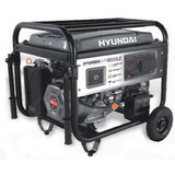 Grupo Electrogeno Generador Hyundai Hy 9000 Le 15 Hp 7.7 Kva