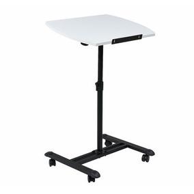Mesa Con Ruedas Para Laptop Pc Computadora 60x40cm (negro)