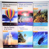 Julio Verne 6 Libros 20 Mil Leguas Viaje Al Centro Tierra