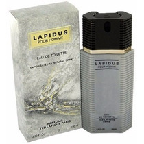 Perfume Ted Lapidus Pour Homme Edt 100ml Importado Original