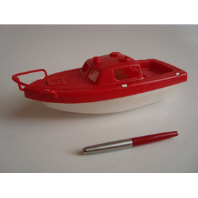 Antigo Barco De Plástico Fabricado Nos Estados Unidos