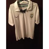 Camisa Polo Seleção Brasileira Nike