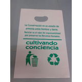 Bolsas Plásticas Boutique Estampadas Con Logo 20x30