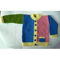Chaleco Multicolor (1 Año Y Medio De Edad)