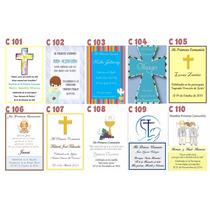 50 Tarjetas/estampitas Comunión Y Confirmación Varón