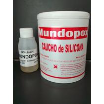 Caucho De Siliconas Mundopox Para Moldes X 1 Kg.