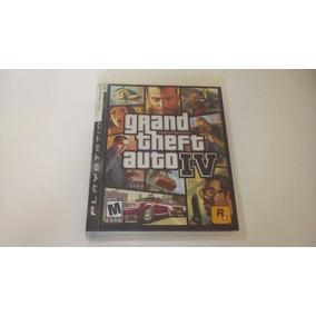 Jogo Ps3 Grand Theft Auto Gta Iv 4 Seminovo Playstation 3