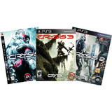 Crysis Trilogy Ps3 Crysis Collection Playstation 3 3x1