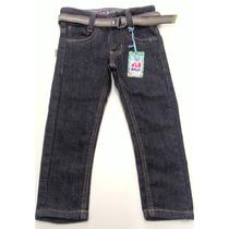 Calça Jeans Masculina Com Cinto Tamanho 1