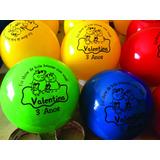 Bolas Personalizadas Aniversario Acima De 20 Bolas