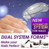 100% Originales...dual System Forms Uñas Acrilicas Y Gel