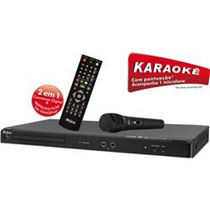 Dvd Player Com Conversor Digital - Philco Ph191+karoke+gar+