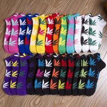 Tines Unisex Hoja De Marihuana Weed Mota Hierba Calcetas